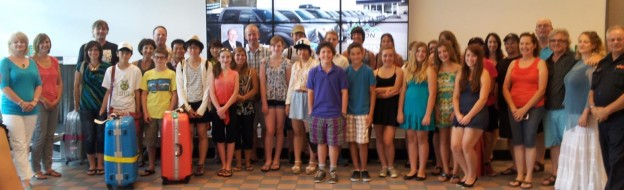 2013 Students Arrive in Castlegar